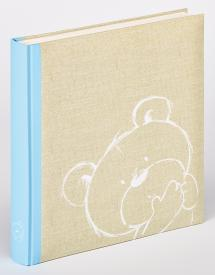 Walther Dreamtime children's album Blue - 28x30.5 cm (50 White pages / 25 sheets)