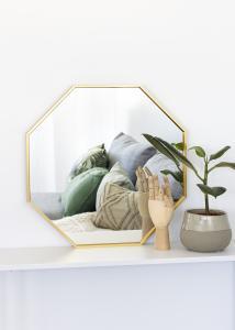 KAILA KAILA Mirror Octagon Gold 50 cm Ø