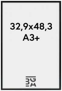 Galleri 1 Frame Edsbyn Black 32,9x48,3 cm (A3+)