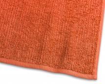 Borganäs of Sweden Guest Towel Stripe Terrycloth - Orange 30x50 cm