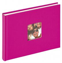 Walther Fun Album Pink - 22x16 cm (40 White pages / 20 sheets)
