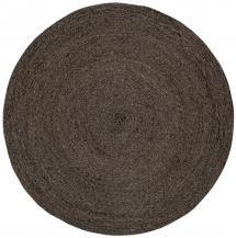 Dixie Rug Ella - Black/Natural 125 cm Ø