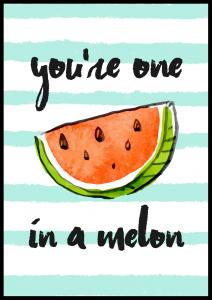 Bildverkstad You´re one in a melon