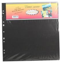 Album sheets Timesaver Gigant - 10 Black sheets
