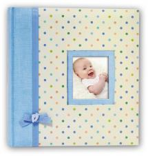 BGA Nordic Kara Baby album Blue - 200 Pictures in 11x15 cm