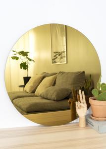 KAILA KAILA Round Mirror Gold 70 cm Ø