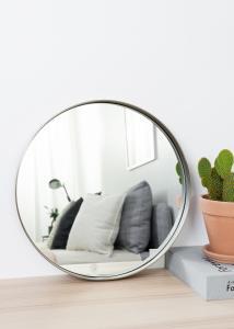 Hübsch Mirror Metal 40 cm Ø