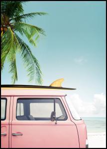 Lagervaror egen produktion Leisure Trip - Pink Poster