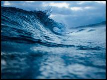 Bildverkstad Waves - Poster
