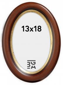 Bubola e Naibo Molly Oval Brown 13x18 cm
