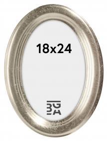 Bubola e Naibo Molly Oval Silver 18x24 cm