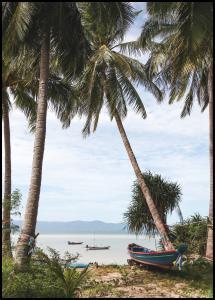 Bildverkstad Boats In Thailand Poster