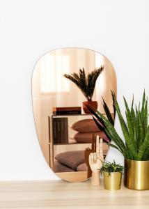KAILA KAILA Mirror Shape II Rose Gold 45x70 cm