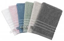 Borganäs of Sweden Wash Glove Basic Terrycloth - White 15x21 cm