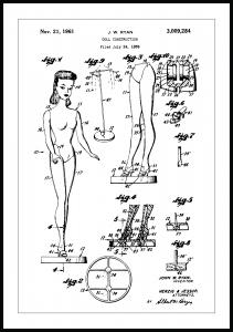Bildverkstad Patent drawing - Barbie