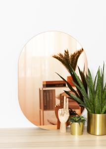 KAILA KAILA Mirror Oval Rose Gold 50x70 cm