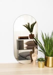 KAILA KAILA Mirror Oval Dark Bronze 35x70 cm