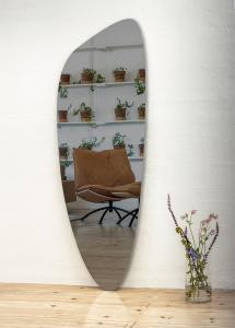 Incado Mirror Slim Warm Grey 160x57 cm