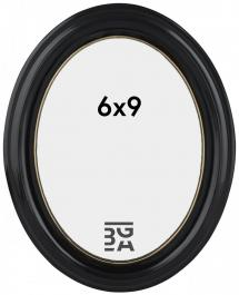Estancia Eiri Mozart Oval Black 6x9 cm
