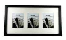 Vivaldi Collage frame Black - 3 Pictures 10x15