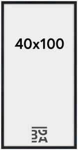 Estancia Frame Stilren Acrylic glass Black 40x100 cm