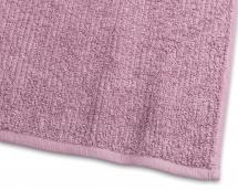 Borganäs of Sweden Towel Stripe Terrycloth - New Pink 65x130 cm