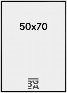 BGA Nordic New Lifestyle Black 50x70 cm