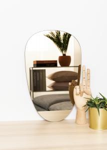 KAILA KAILA Mirror Shape II Dark Bronze 25x40 cm