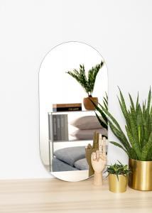 KAILA KAILA Mirror Oval 35x70 cm