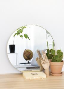 Artlink Mirror Vendela Brass 50 cm Ø