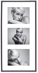Walther Galeria Collage frame Black - 3 Pictures (13x18 cm)