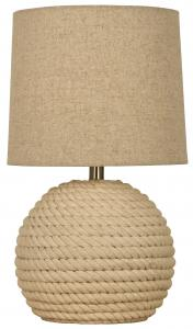 Aneta Belysning Table Lamp Sisal - Natural White