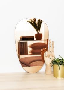KAILA KAILA Mirror Shape II Rose Gold 25x40 cm