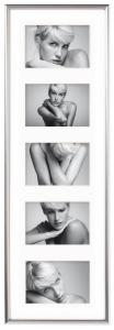 Walther Galeria Collage frame Silver - 5 Pictures