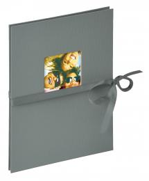 Walther Fun Leporello Dark Grey - 12 Pictures in 15x20 cm