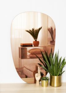 KAILA KAILA Mirror Shape II Rose Gold 64x100 cm