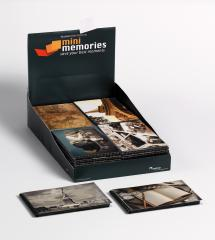 Walther Mini Memories Album Travel 6 variants - 40 Pictures in 10x15 cm - 36-pack
