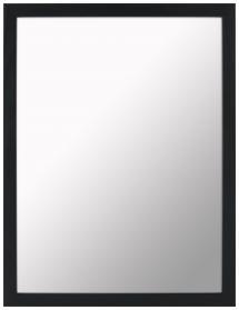 Spegelverkstad Mirror Simple Black - Custom Size