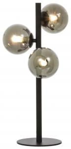 Aneta Belysning Table Lamp Molekyl 3 - Black/Smoked