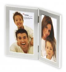 Walther Walther Jazz Folding picture frame Silver - 2 Pictures 10x15 cm