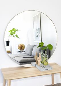 Artlink Mirror Vendela Brass 110 cm Ø