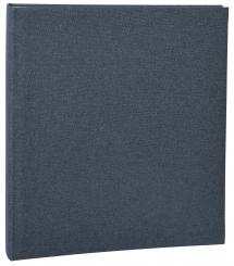 Focus Base Line Canvas Ring Folder - Blue