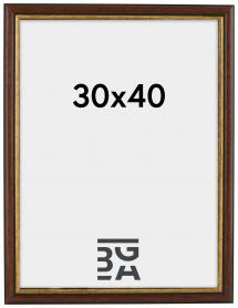 Siljan Brown 30x40 cm