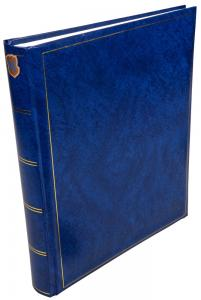 Henzo Henzo Basic Line Photo album Blue - 30x36 cm (80 White pages / 40 sheets)