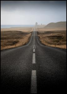 Bildverkstad Country Road Poster