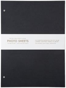 Focus Refill Sheets - Coffee Table Photo Album 10 pcs (L)