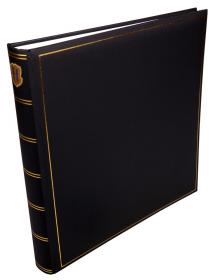 Henzo Henzo Champagne Photo album Black - 35x35 cm (70 White sheets / 35 pages)