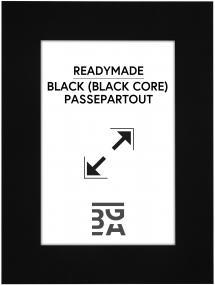 Galleri 1 Mount Black (Black Core) 15x20 cm (9x14)