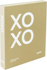 KAILA KAILA XOXO Vanilla - Coffee Table Photo Album (60 Black Pages)