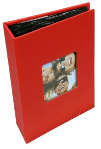 Walther Fun Album Red - 100 Pictures in 10x15 cm